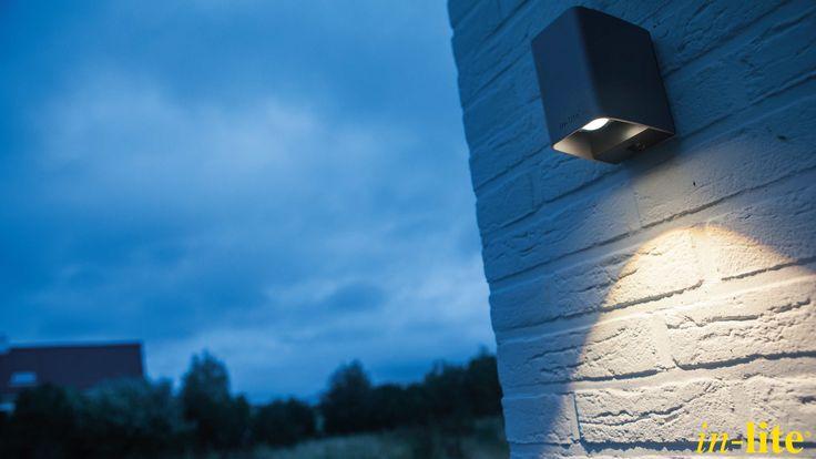 ACE DOWN | Design | Rose Silver | Strak lichtbeeld | Buitenverlichting | Wandlamp
