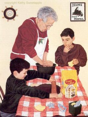 """In Nan's Kitchen"" by Kathy Sweetapple"