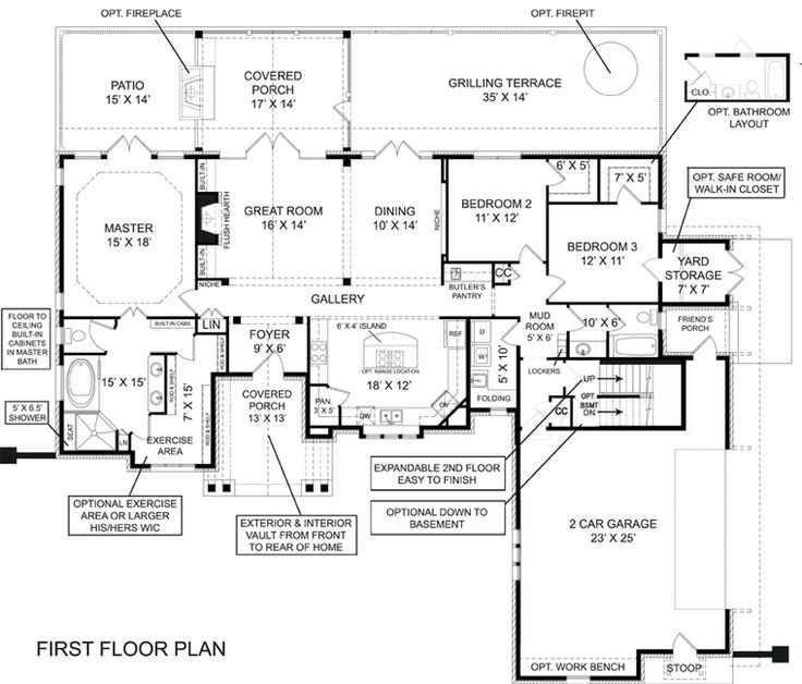 364 Best House Plans Images On Pinterest