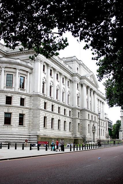 HM Treasury building, via Flickr