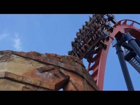 Busch Gardens Tampa Bay Florida - Sheikra Dive Rollercoaster Vertical Drop - Edited Clip - http://rollercoasterhq.net/busch-gardens-tampa-bay-florida-sheikra-dive-rollercoaster-vertical-drop-edited-clip/