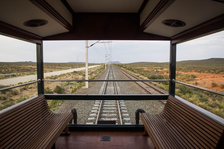 Watching the world go by. Rovos Rail #journey from Cape Town to Pretoria. #SouthAfrica #Rovos #Rail
