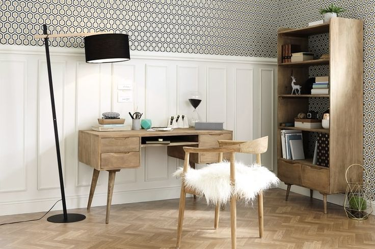 am nager et d corer son bureau habitaci n marina. Black Bedroom Furniture Sets. Home Design Ideas