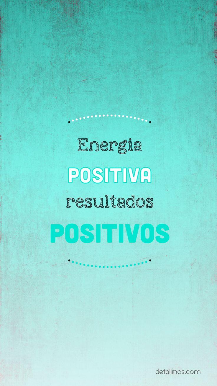 Energía positiva, resultados POSITIVOS. En: http ...
