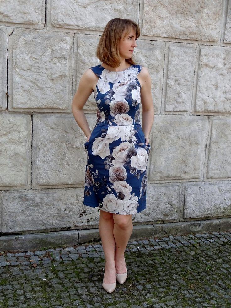 sukienka, Susanna Moden 3/2015 model 2588; summer dress
