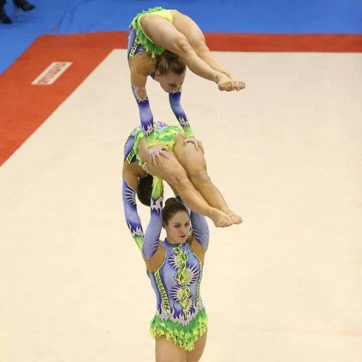Athletics Gymnastics Strength: 17 Best Images About Trio On Pinterest
