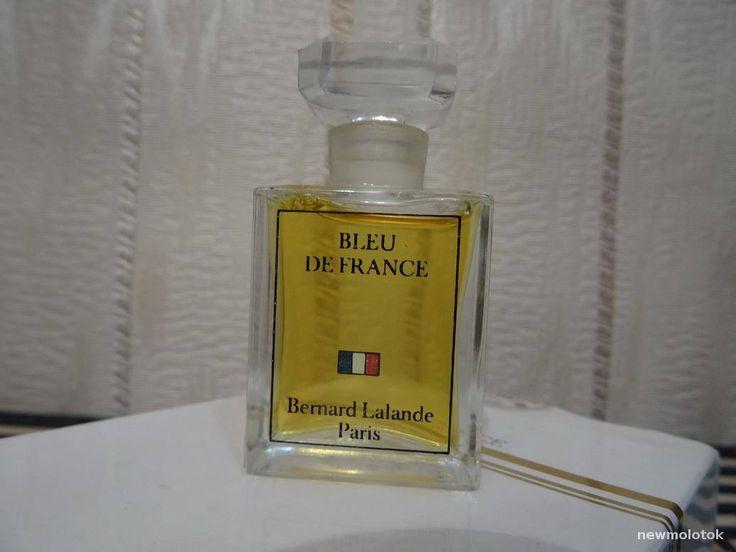 Bleu de France Bernard Lalande 8ml. Perfume Vintage by MyScent on Etsy