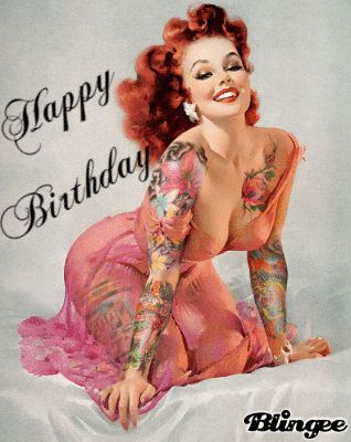 Happy Birthday pinup