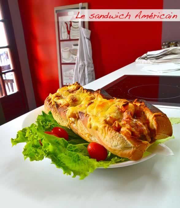 Recette bouchon : sandwich américain bouchon