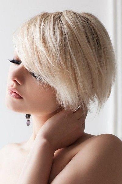 The 104 best Short Hairstyles for Women images on Pinterest | Short ...