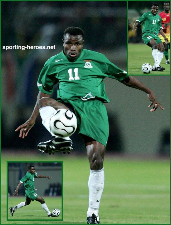 Christopher Katongo - Zambia - African Cup of Nations 2006