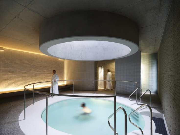 Hepburn Bathhouse  Salt therapy pool