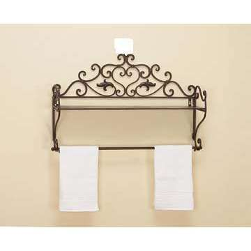 Google image result for decorating for Wrought iron bathroom furniture