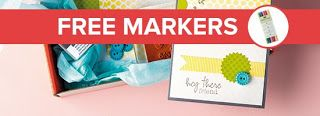 Sign up by February 10th, 2014 and get a set of 2012-2014 In Color markers FREE with your first Paper Pumpkin Kit!  Stampin' Up, Brianna Thompson, Mommy Stamper