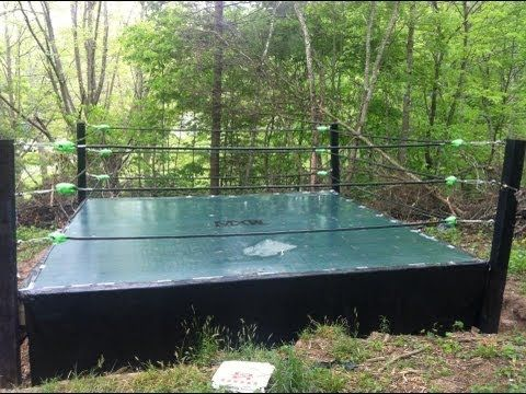 how to make a backyard wrestling ring part 1 build a ring http