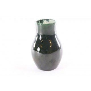 Egersund majolica vase
