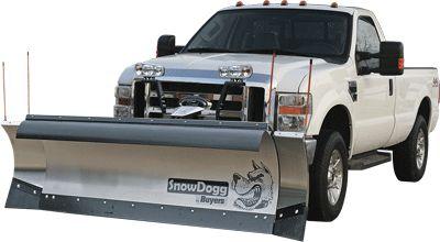 EX80-SnowDogg Snow Plow 8' Extreme-Duty Straight Blade