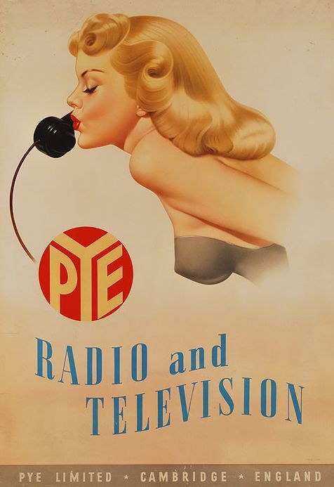 Pye Radio and Television ~ Archie Dickens | #Appliances #Television #Radio #Pye
