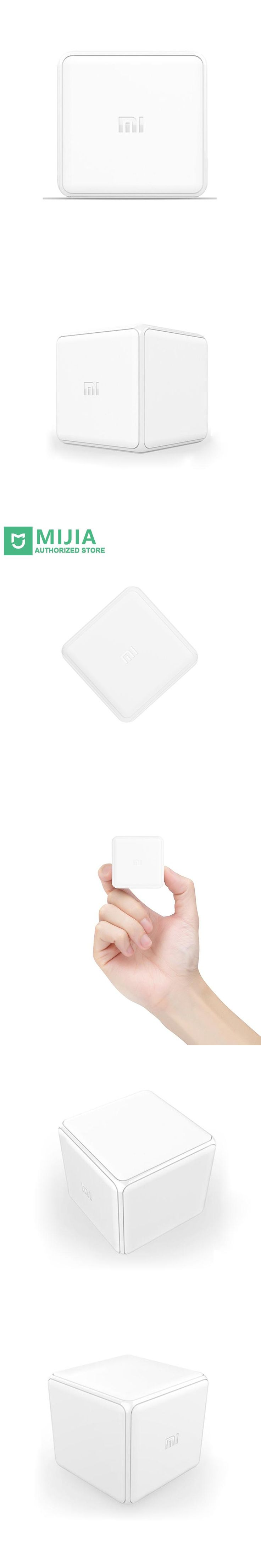 Xiaomi Mi Magic Cube Controller Zigbee Version Controlled by Six Actions With Phone App For Smart Home Device Three Colors Stock