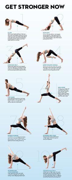 Stretch yourself slim with Tara Stiles #yoga