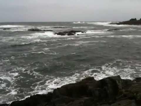 Bailey Island , Maine  Land's End surf