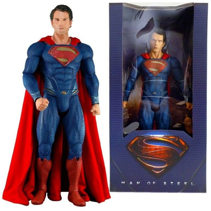 Man of Steel – 1/4th Scale Superman Action Figure