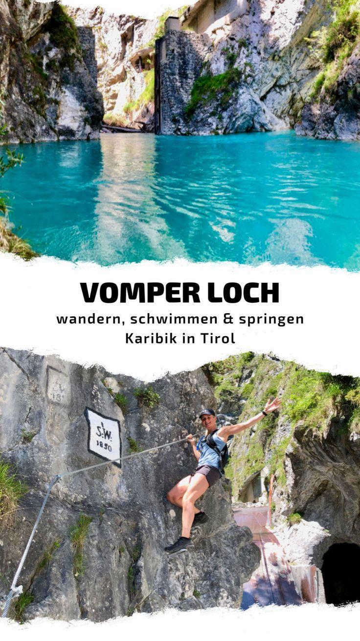 Vomper Loch | wandern, schwimmen & springen |Kar…