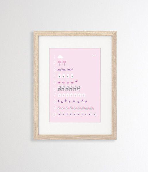 Sne design 1-10 poster / wall art