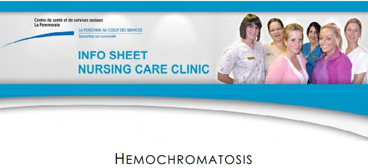 Hemochromatosis Information Sheet