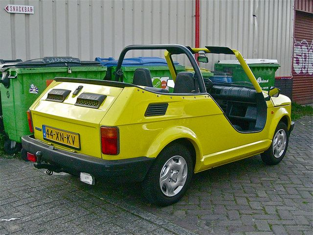 Fiat 126 650 ELX Cabriolet