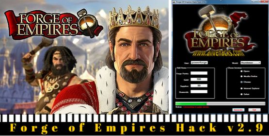 http://www.latesthackingsoftware.com/forge-of-empires-hack-tool/  Forge of Empires Hack v2.9 Download
