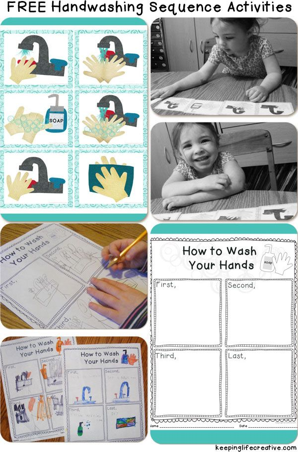 Fun object lesson about germs and the importance of washing hands, plus FREE handwashing sequencing activities.
