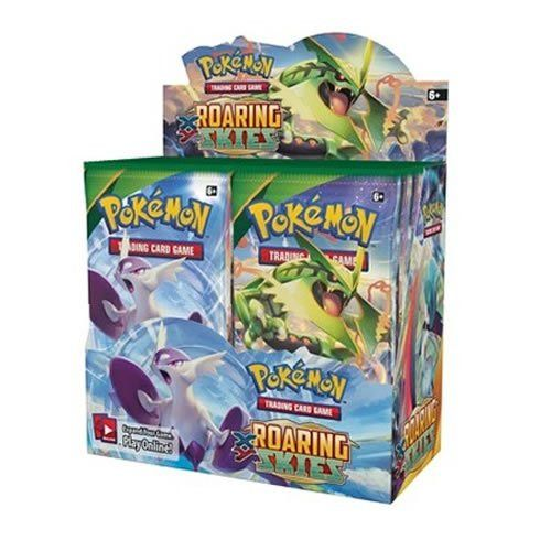 Pokémon Trading Card Game XY: Roaring Skies Booster Display