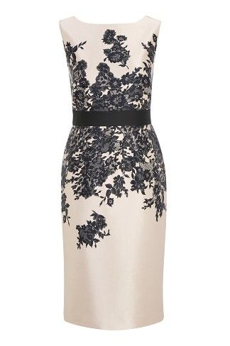 Lace Print Dress, gorgeous florals with a glamorous feel for evening occasions.