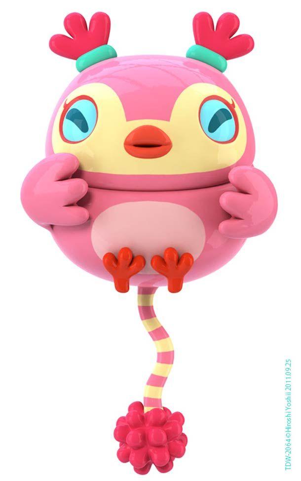 série de concepts d'art toys de l'artiste /  designer japonais Hiroshi Yoshii
