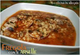Di tutto e di più sulla Sardegna di Giurtalia e tanto altro ancora.: Fregola con le Arselle - Un piatto per gli appassi...