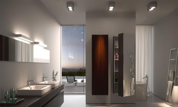 Badezimmerbeleuchtung Ideen für schönes Licht