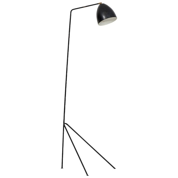 Midcentury Floor Lamp in the Manner of Greta Grossman | From a unique collection of antique and modern floor lamps at https://www.1stdibs.com/furniture/lighting/floor-lamps/