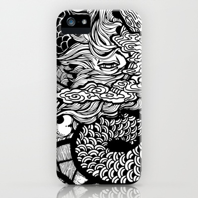 Reflections iPhone Case by Chentheillustrator - $35.00