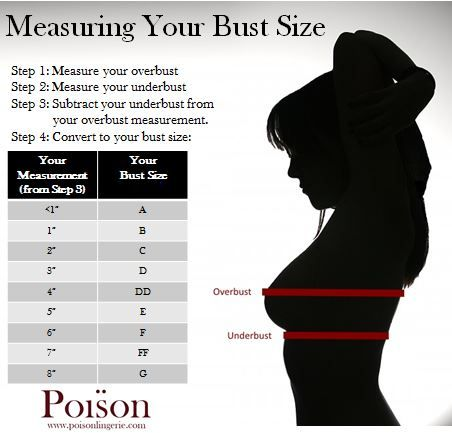 Ever wonder how to measure your bust size? Here are four easy ...