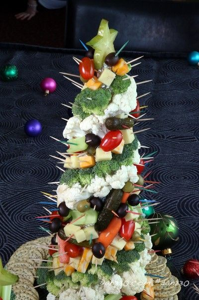 Tree centerpieces vegetables and on pinterest