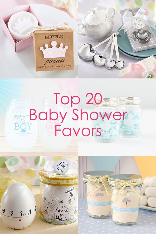 Planning a baby shower? Find the best baby shower favors all in one place!
