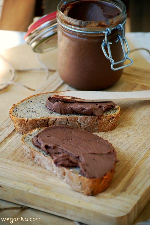 Kuchnia wegAnki: Kanapkowy krem czekoladowy bez cukru