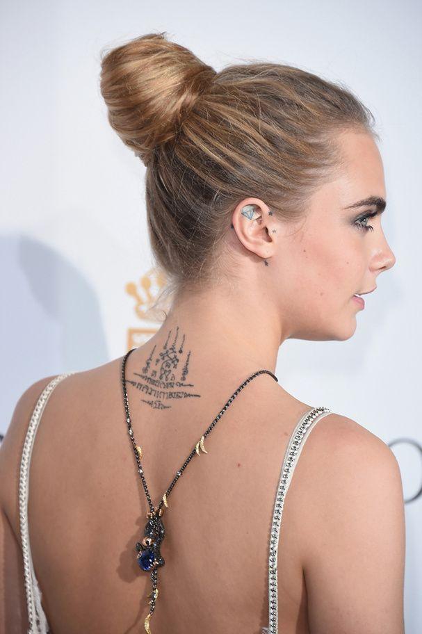 Les tatouages de Cara Delevingne