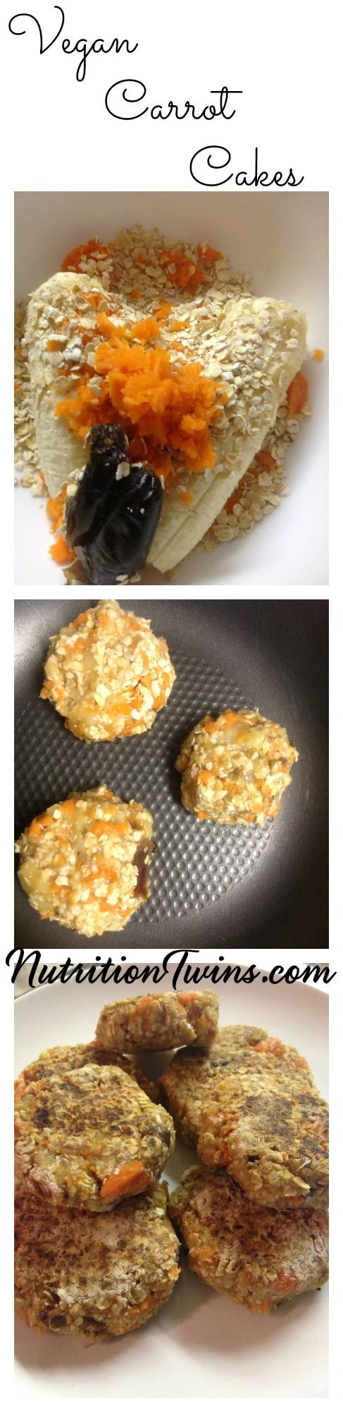 Mini Vegan Carrot Cakes | Only 65 Calories | Tastes like dessert, But Healthy enough to be with dinner | No added Sugar & Only 5 Ingredients |For MORE RECIPES, Fitness & Nutrition Tips please SIGN UP for our FREE NEWSLETTER www.NutritionTwins.com