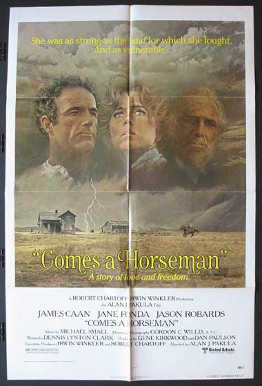 COMES A HORSEMAN Movie Poster (1978)    WESTERN Movie Posters @ FilmPosters.Com - Vintage Movie Posters and More