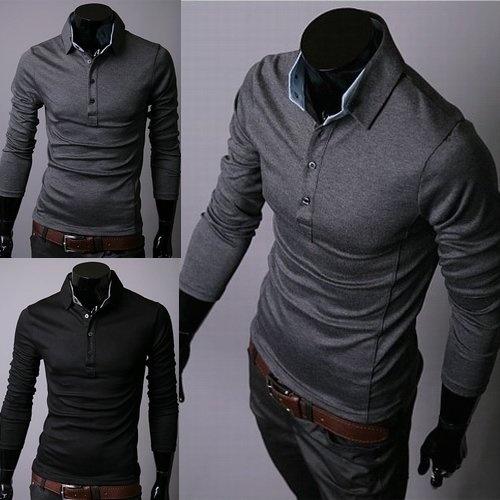 2013 New Mens T-Shirts,Mens Fashion T-shirts,Casual Slim Fit Stylish Shirts  B02