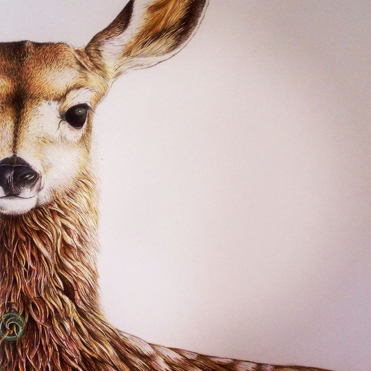 'Willow' - Fallow Deer with Pounamu necklace by Nikki McIvor