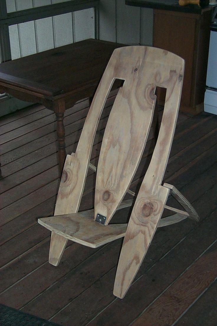 Diy plywood chair - Plywood Folding Deck Chair Sheet Of Plywood