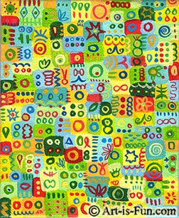 Color in Art: A Look at the Many Combinations and Effects of Abstract Colors
